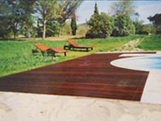 Pavimento in legno esterno