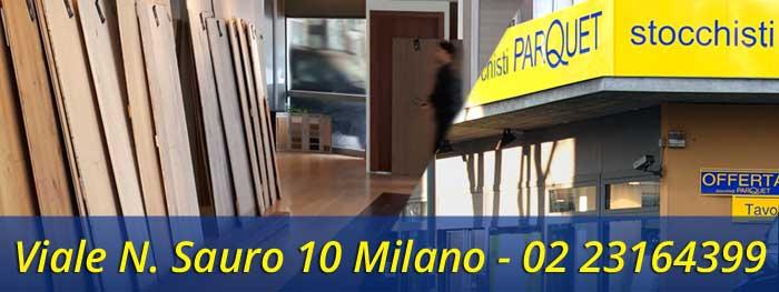 Negozio Parquet esterni Milano