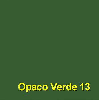 PVC opaco verde