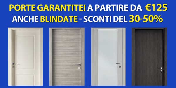 Porte da interni Milano prezzi promozione da Stocchisti Milano