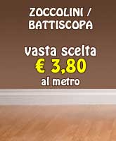 zoccolini e battiscopa