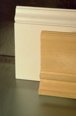 Battiscopa in legno bianco alto parquet blog guida ai for Battiscopa in legno bianco